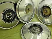 1972 1973 1974 1975 1976 1977 Dodge Hubcaps 15 Wheel Covers Set Of 4