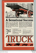 1917 Paper Ad Truckmobile Truck On Ford Chassis Conversion Car Auto Automobile