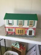 Wolverine Toy Tin Lithograph Doll House