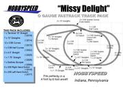 Lionel Fastrack Missy Delight Track Layout Train 4x8and039 O Gauge Side Bumper New