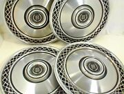 1972 1973 1974 1975 1976 1977 1978 1979 Ford Hubcaps 15 Inch Wheel Covers Set 4