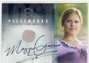 Lost Season 1 Autographed Costume Card Pwa-3 Maggie Grace As Shannon Rutherford