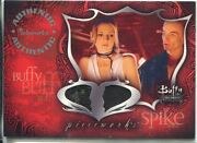 Buffy Tvs Connections Dual Pieceworks Card Pwc-1 Buffy And Spike Skirt And Pants