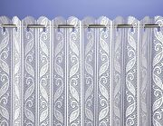 Corsica Lace Net Curtain Blinds Available In Ivory And White