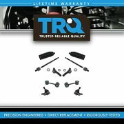 Trq 10 Piece Steering And Suspension Kit Ball Joints Tie Rods Sway Bar End Links