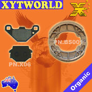 Front Rear Brake Pads Shoes For Kymco Visa - R 110 2011 2012 2013 2014 2015