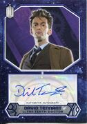 Doctor Who 2015 [purple][/25] Autograph Card David Tennant - 10th Doctor