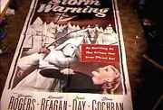 Storm Warnings Orig 3 Sheet 41x81 Movie Poster 1951 Controversial Ultra Rare