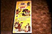 Unholy Love / Reckless Girls Combo R48 Insert 14x36 Movie Poster Myrna Loy Rare