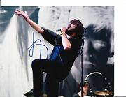 The Vaccines Justin Hayward-young Signed Outdoor Concert 8x10