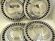 1961 Ford Hubcaps 14 Inch Wheel Covers Starliner Galaxie Fairlane