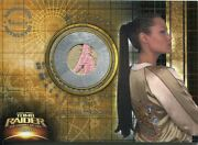 Tomb Raider The Cradle Of Life Pieceworks Card Pw1 Jacket Embroided Var.[rare]