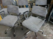 Lot Of 5 - Harter By Izzy+ Arc Chairs