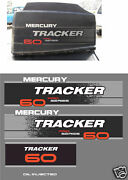 Mercury Tracker 60 Decals Merc Outboard Reproductions