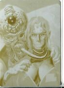 Mars Attacks Invasion Printing Plate Chase Card 83 Yellow