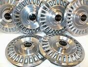 1967 1968 Pontiac Pmd Hubcaps 14 Wheel Covers Gm Set Of 6