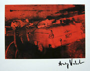 Andy Warhol 5 Deaths 1982 Hand Signed Print