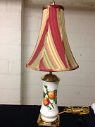 Portmeirion Pomona The Roman Apricot Spring Lamp With Shade 26 It Works