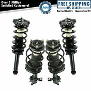 Loaded Quick Complete Strut Spring Mount Assembly Lh Rh Kit 4pc Front Rear