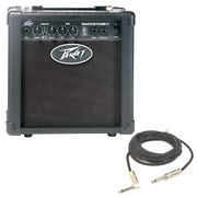 New Peavey Backstage Trans Tube 6 Combo Amp 10w Guitar Amplifier W/ 1/4 Cable