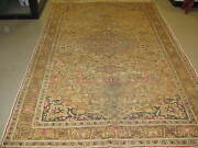 Semi Antique Vintage Turkish Sivas Rug Wool Hand Knotted 6and039-6 X 10and039