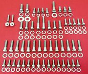 1949-1953 Ford Engine Bolts Kit V8 Flathead Stainless Steel Hex Screw Set