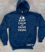 Unisex Sweatshirt Keep Calm And Drive Vespa Mods Style Who Target Carry On
