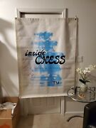 Vintage Inside Chess Magazine Trade Show Banner Signed By Gm Yasser Sierawan