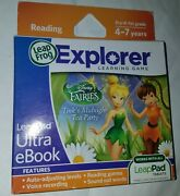 Ultra Ebook Disney Fairies Reading For Leappad Learning Tablet 1 2 3 Sealed