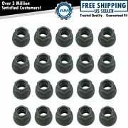 Dorman Flanged Flat Face Wheel Lug Nut Steel Kit Of 20 For Ford Lincoln Brand