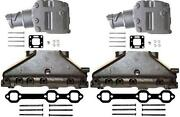 4.3l Mercruiser Exhaust Manifold And Elbow/riser Kit. Replaces 99746a17 807988a03