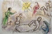 Marc Chagall The Odyssey...peace Rediscovered Hand Signed Lithograph 1974/75