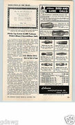1962 Paper Ad Lohman Duck Call Goose Crow Quail Carved Deluxe