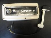 Chrysler Side Mount Shift And Throttle Control Box With Trim Marine