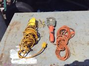 3 Trouble Lights W/ Cord 25ft 16 Awg