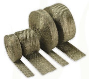 Titanium Exhaust Manifold Heat Insulating Thermal Protective Wrap