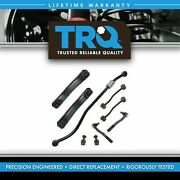 Trq 9pc Steering And Suspension Kit Control Arms Ball Joints Sway Bar End Links