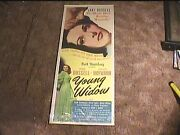 Young Widow 1946 Insert 14x36 Movie Poster Jane Russell Louis Hayward Very Sexy