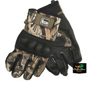 New Banded Gear Blind Gloves Duck Goose Hunting Shadow Grass Blades Camo Xl