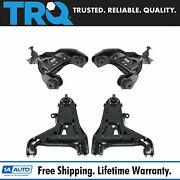 Trq Front Upper Lower Control Arm Ball Joint Suspension Set 4pc For S10 Blazer
