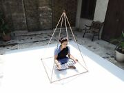 3 Feet Nubian Pyramid For Healing And Meditation With 1/2 Copper Tubes+connectors