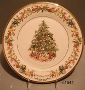 Lenox Christmas Trees Around The World Annual Plate Brazil 2004 New Box