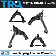 Trq Front Upper And Lower Control Arms W/ Ball Joint 4pc Set For Dakota Durango