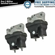 Front Engine Mount Lh Lf And Rh Rf Set Of 2 Pair For Charger Challenger Magnum New