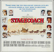 Stagecoach Orig 6-sheet Movie Poster Ann-margret/alex Cord/norman Rockwell Art