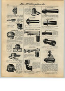 1931 Paper Ad Sparton Bugle Chime Car Auto Horn Store Display Stand