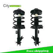 2 Front Complete Strut Coil Spring Lh And Rh Assembly 02-06 For Nissan Altima 2.5l