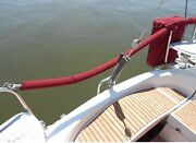 Set Of 2 68 Sunbrella Life Line Covers Sailboat Life Line Covers W/ Hook And Loop