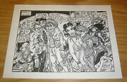 Nightmare Living Room 2 Underground Comix One Sheet By S. Clay Wilson Rare