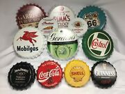 Retro Bottle Tops 3 Cracking Sizes Loads Of Designs Distressed Metal